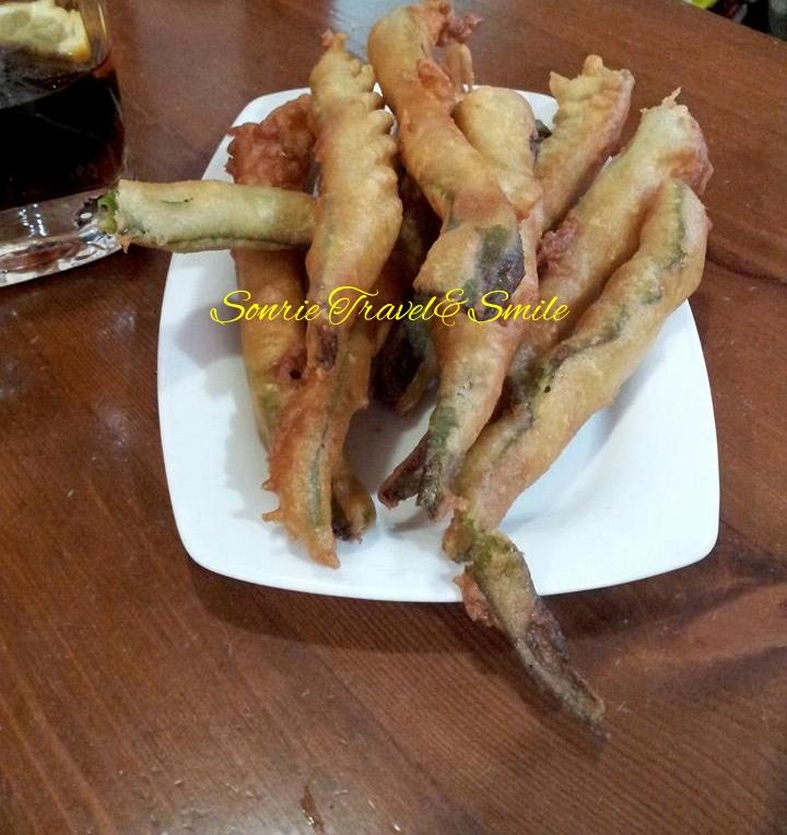 Pimientos a la tempura El Albergue_fotor