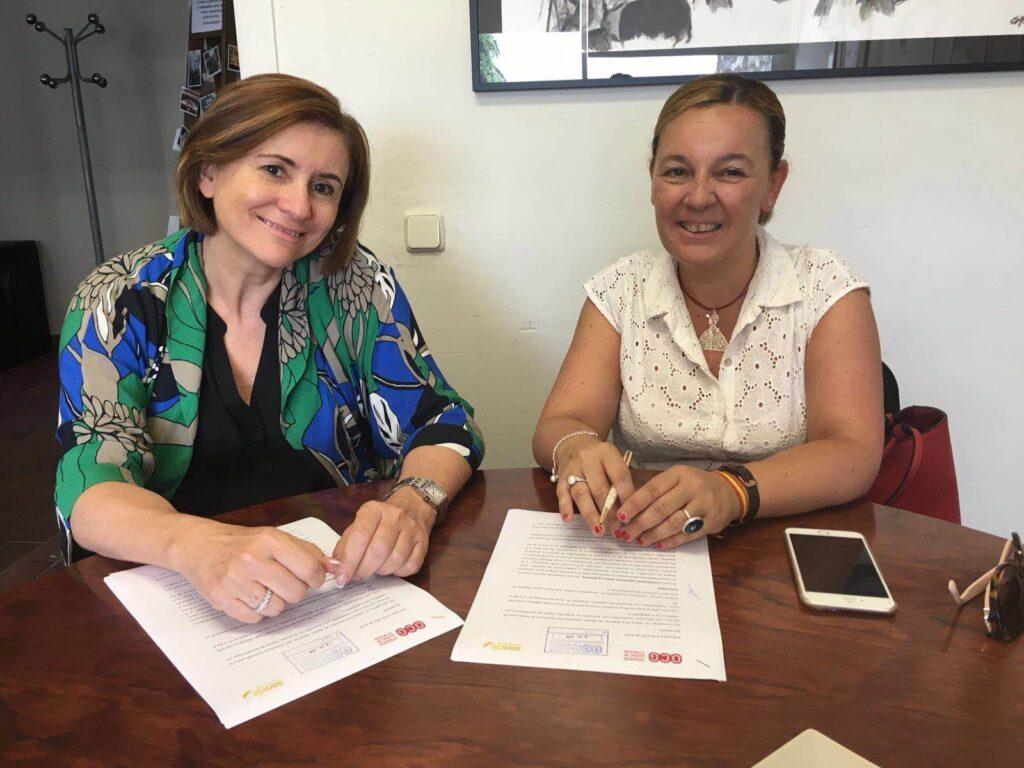 Firma convenio colaboración con OCG